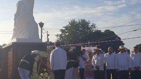 Varela preside actos en La Villa de Los Santos