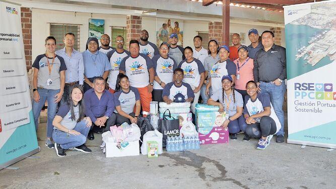 Hutchison Ports PPC se unió al Día de las Buenas Acciones