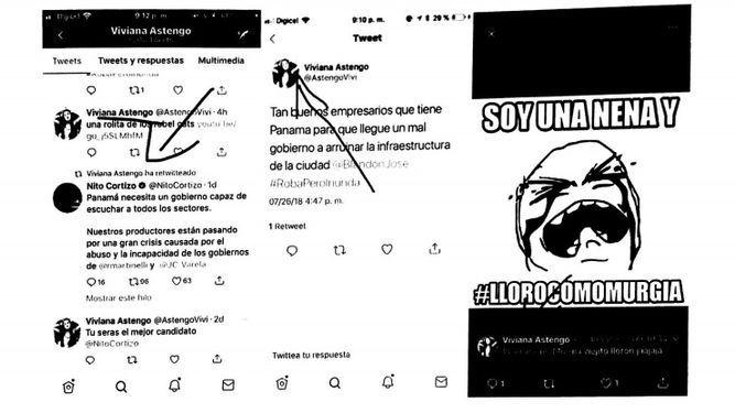 TE falla a favor de Blandón en caso de 'ataques' en Twitter; apuntan a Cortizo