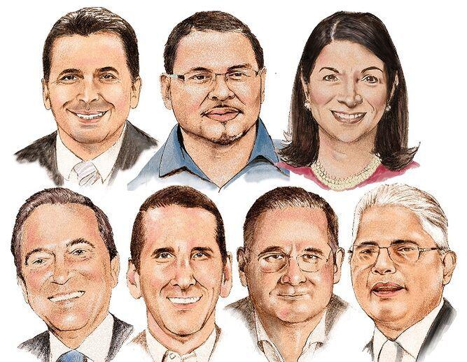 Una mirada a los siete candidatos