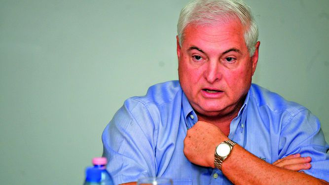 Ricardo Martinelli presenta solicitud de fianza