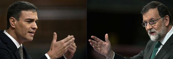 Mariano Rajoy será sucedido por el socialista Pedro Sánchez