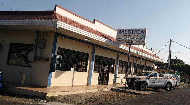 Cierran temporalmente oficinas de Meduca en la provincia de Herrera