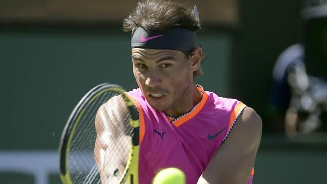Nadal se retira de semifinales de Indian Wells ante Federer