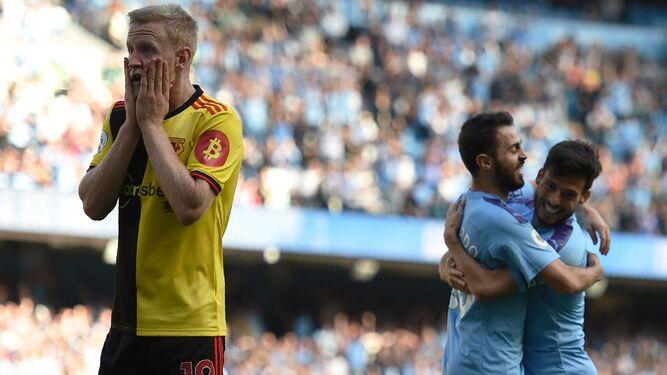 El City sacude al Watford con un histórico 8-0