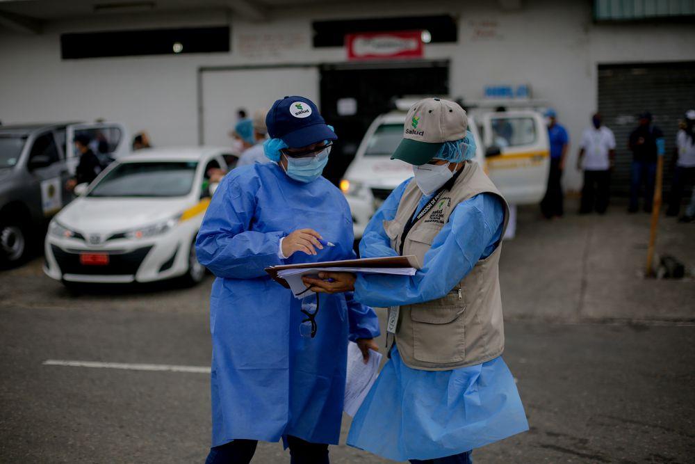 Ministerio de Salud detecta en las calles a 761 personas con Covid-19