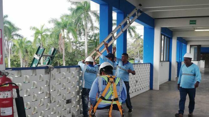 Finalizan los trabajos de mantenimiento en la planta potabilizadora de Chilibre