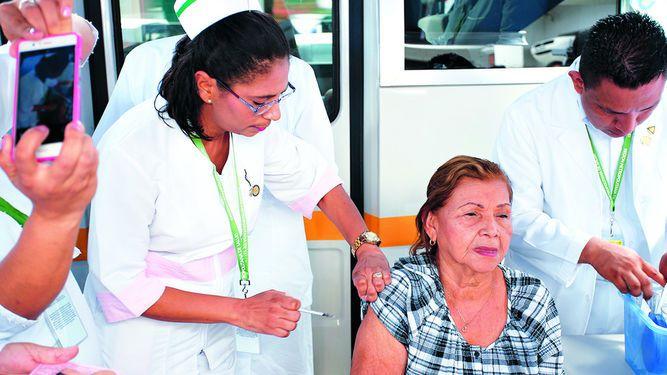 Vacuna de prevención contra cuatro virus de la influenza