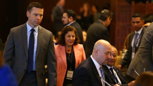 Inaugura encuentro de ministros de Seguridad de Centroamérica