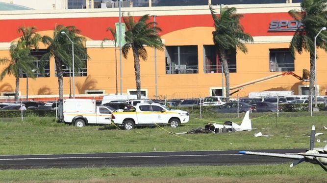Fallece piloto de aeronave siniestrada en el aeropuerto Marcos A. Gelabert en Albrook