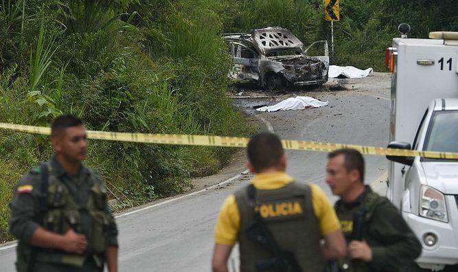Dos policías muertos en ataque donde opera disidencia de las FARC