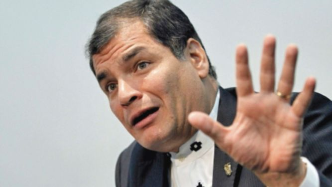 Corte ordena captura del expresidente Rafael Correa
