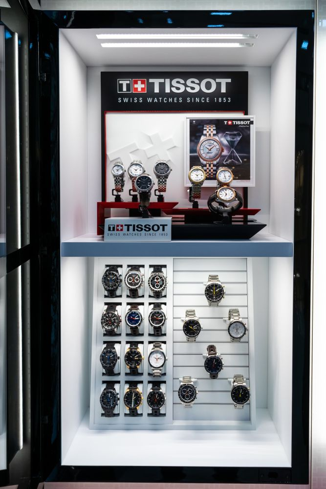World Time inaugura su renovado espacio premium Shop in Shop de Tissot en Mall Multiplaza