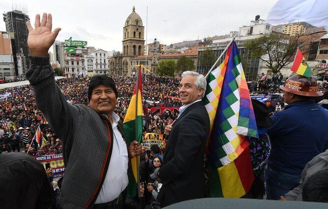 Crisis política en Bolivia amenaza con suspender todo el fútbol