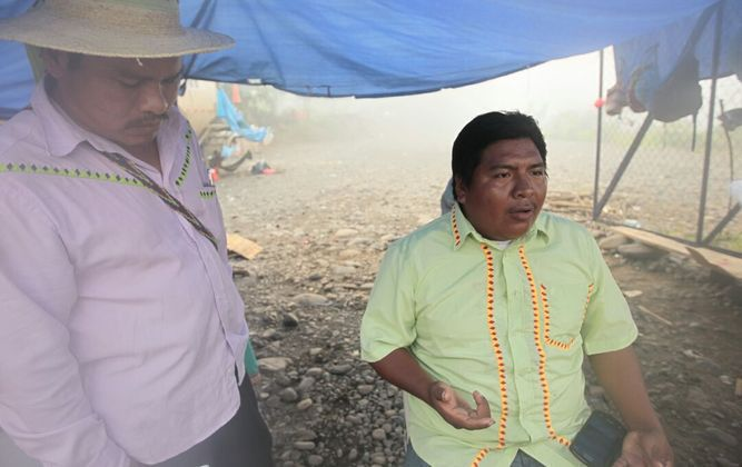 Indígenas envían nota a Varela; lo citan el 20 de junio en Tolé