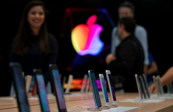 Nuevos iPhone de Apple registran mayor demanda