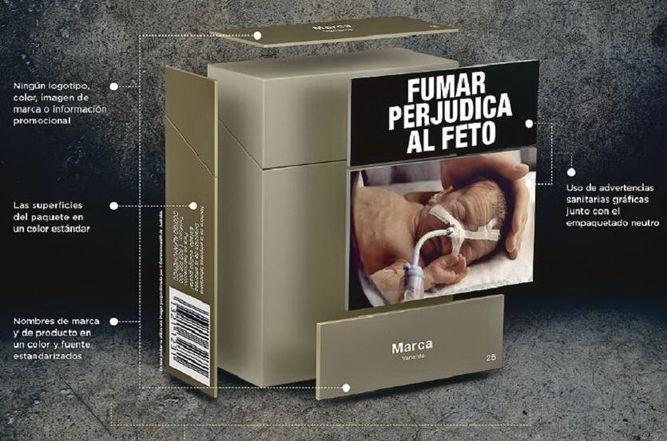 Panamá aboga por el empaquetado neutro de cigarrillo