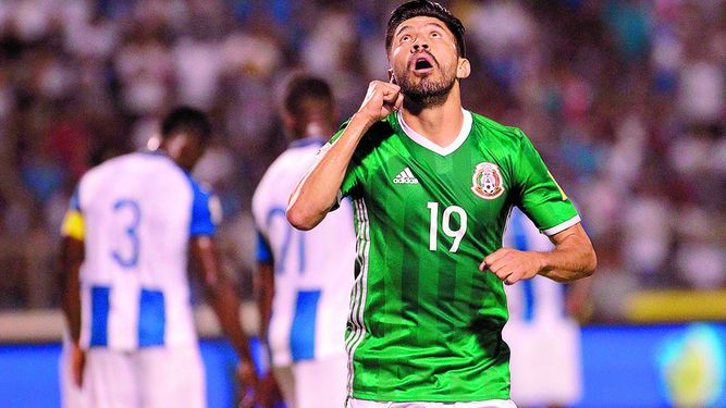 México, el abanderado del patio