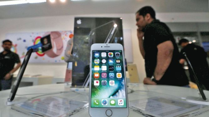 Samsung extiende su ventaja sobre Apple en la India
