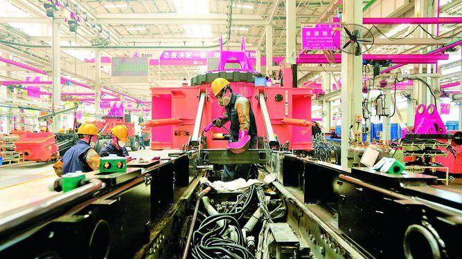 Industria china mantiene buen ritmo