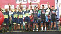 Jurado se afianza en el liderato de la Vuelta