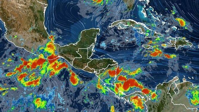Sinaproc avisa sobre mal tiempo en varias áreas del país