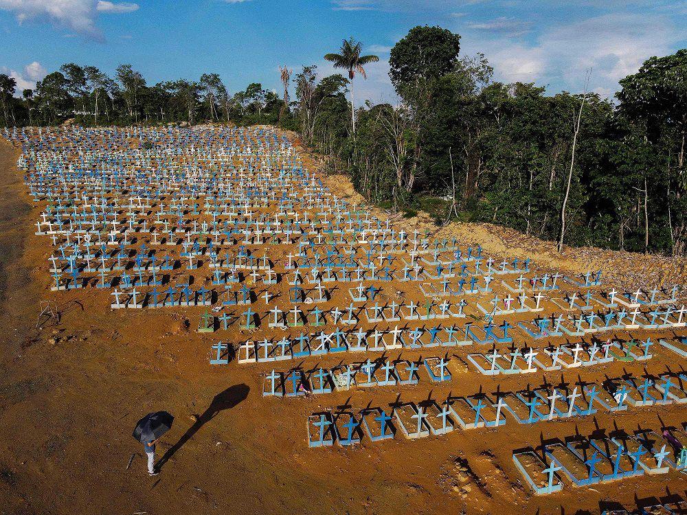 Brasil registra por primera vez más de 4,000 muertos por la Covid-19 en 24 horas