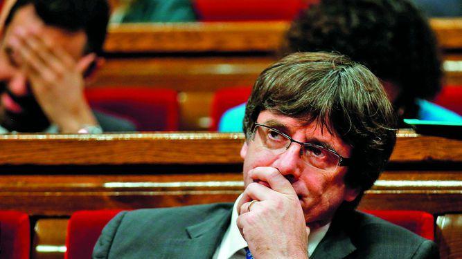 Puigdemont no declarará en Madrid