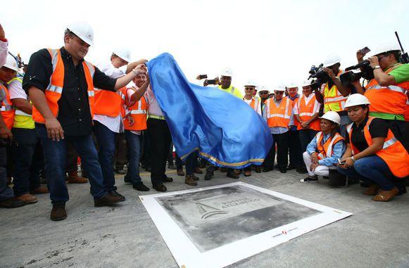 ACP efectúa último vaciado de concreto en el tercer puente sobre el Canal