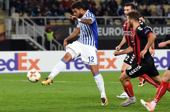 Real Sociedad se pasea con cuatro goles de Willian José