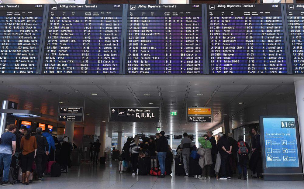 Lufthansa prolonga la suspensión de sus vuelos a Pekín y Shanghai por coronavirus