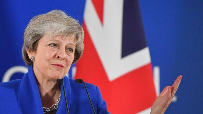 Theresa May dice no estar triste por dejar la Unión Europea