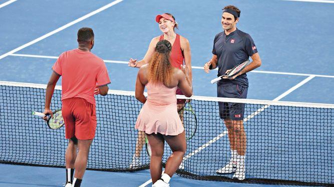 Suiza domina el duelo ante EU en la Copa Hopman de tenis