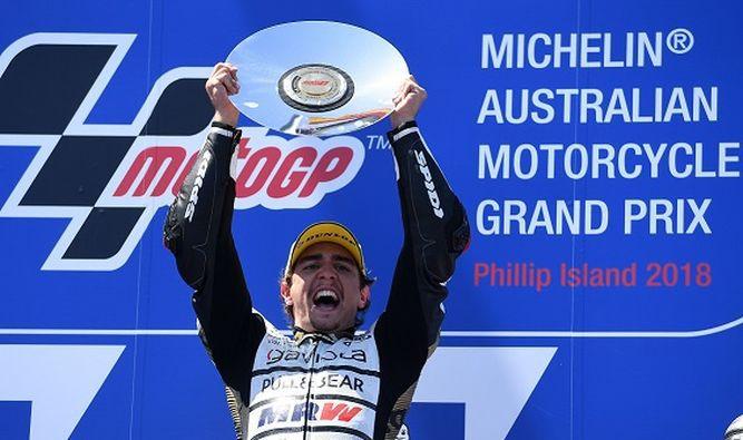 Español Arenas gana el GP de Australia en Moto3