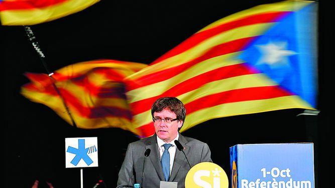 Imponen fianza por referendo catalán 2014
