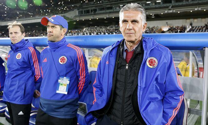 Colombia espera por James para enfrentarse a Perú