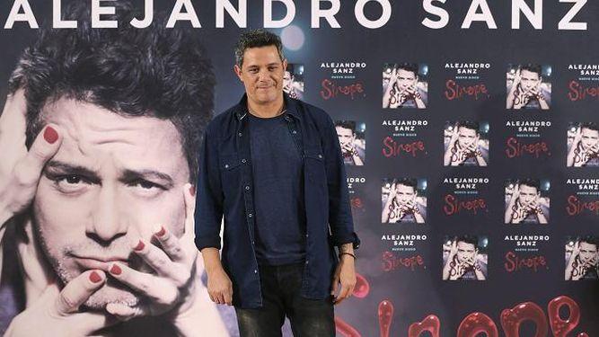 Alejandro Sanz, con máxima exigencia para 'Sirope'