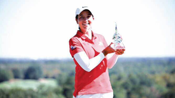 Laura Restrepo consigue histórico triunfo en golf
