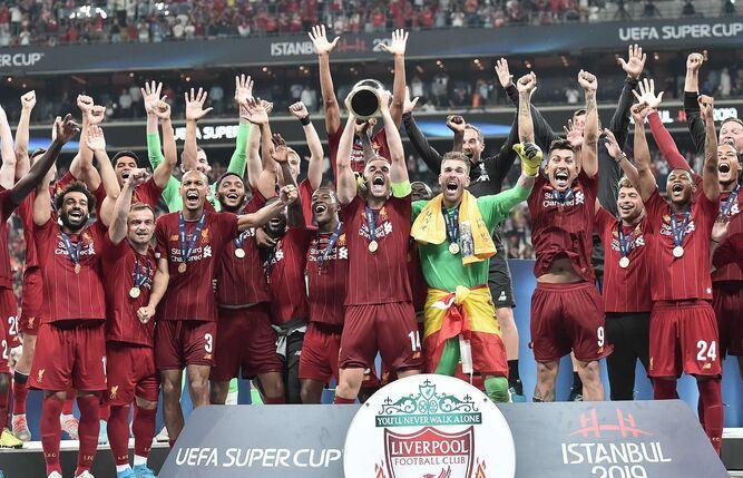 Liverpool conquista la Supercopa de Europa en penales