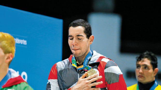 Edgar Crespo gana el primer oro para Panamá