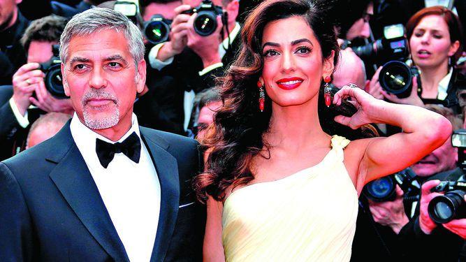 Clooney amenaza por fotos tomadas a sus mellizos