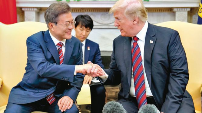 Trump: cumbre podría aplazarse
