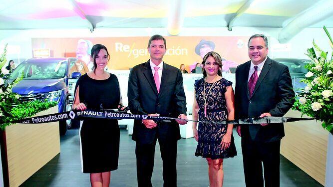 Renault inauguró su 'stand' en el Panamá Motor Show 2019