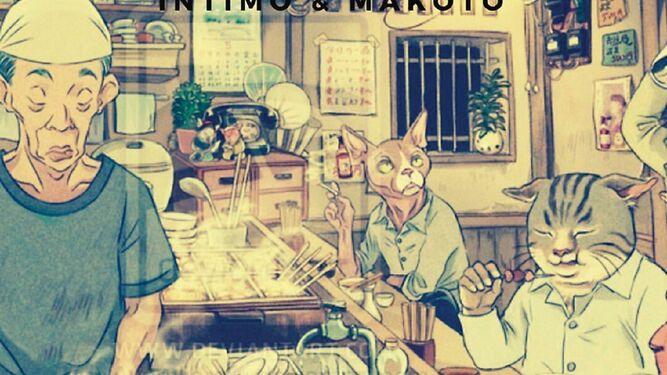 Makoto en Íntimo con crudos e izakayas