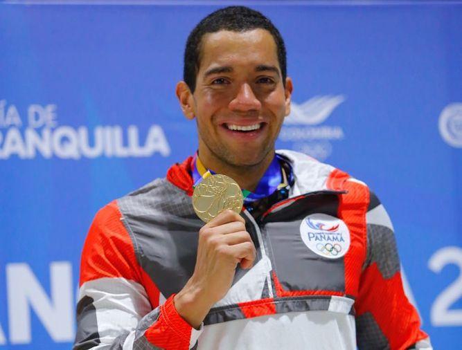 Edgar Crespo le da a Panamá su primera medalla de oro