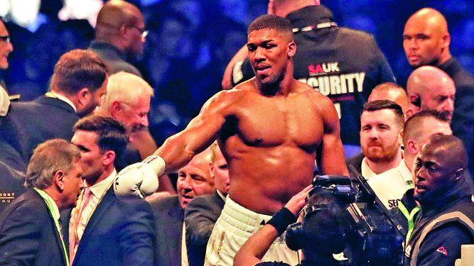 Joshua peleará con Parker el 31 de marzo
