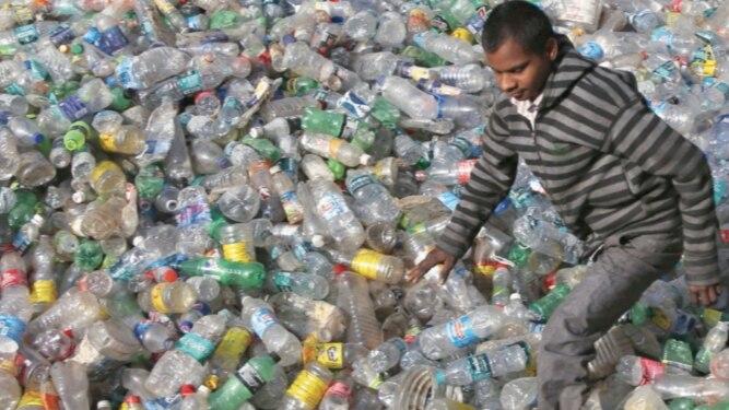Advierten de alta contaminación debido al plástico