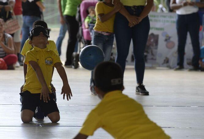Juegos Adaptados comenzaron este miércoles con los niños más pequeños