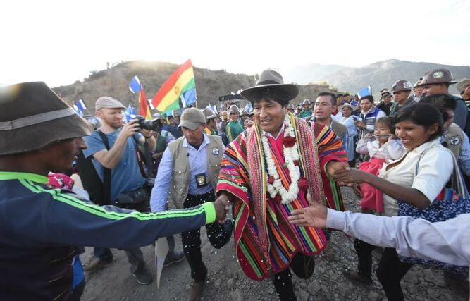 Evo Morales se niega a una 'negociación política' para acabar crisis electoral en Bolivia