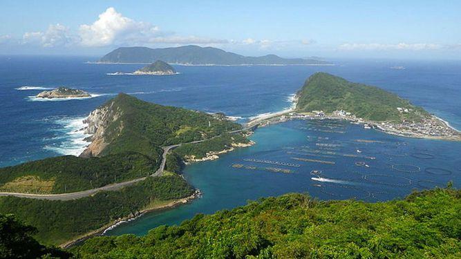 Japón prohíbe visitar la isla de Okinoshima